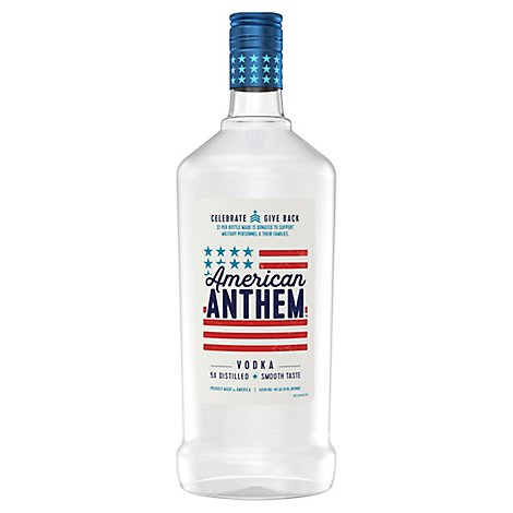 American Anthem Vodka 80 Proof - 1.75 Liter