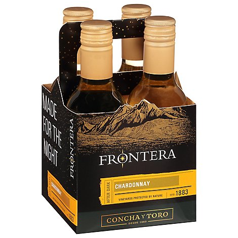 Frontera Made For The Night Wine Chardonnay Multipack - 4-187 Ml
