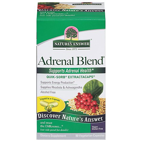 Natures Answer Adrenal Stress Aw - 90 Count