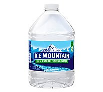 Ice Mountain 100% Natural Spring Water - 101.4 Fl. Oz.