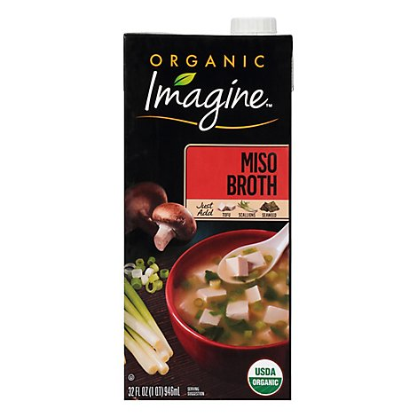 Imagine Organic Miso Broth - 32 Oz