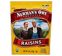 Newmans Own Raisins Organic - 6 Oz