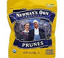 Newmans Own Organics Prunes - 12 Oz