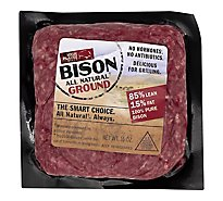 High Plains Bison Ground Bison 85% Lean 15% Fat - 16 Oz