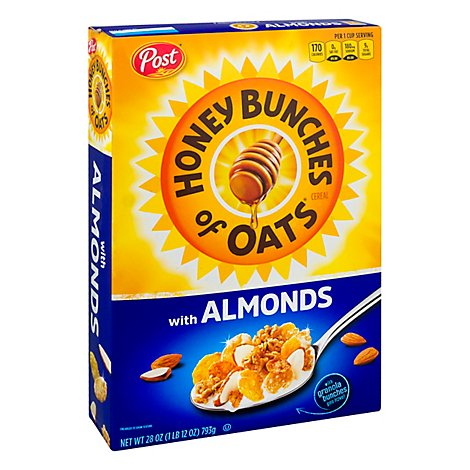 Post Cereal Hbo Almond - 28 Oz