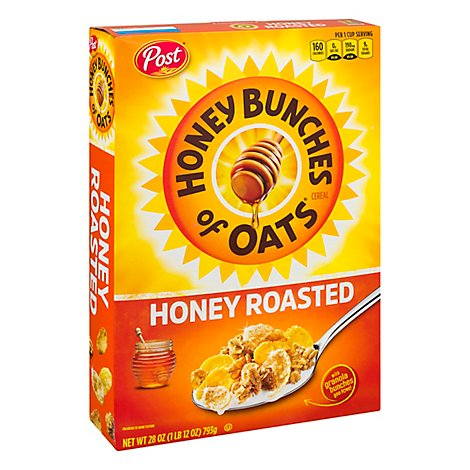 Post Hbo Cereal Hny Rstd - 28 Oz