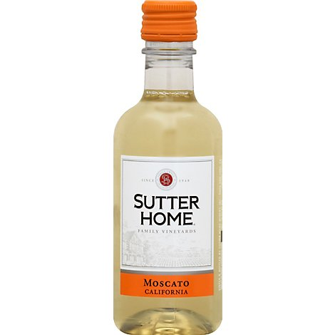 Sutter Home Moscato Wine - 4-187 Ml