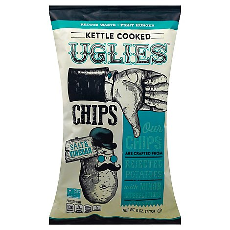 Uglies Potato Chip Salt & Vinegar - 6 Oz