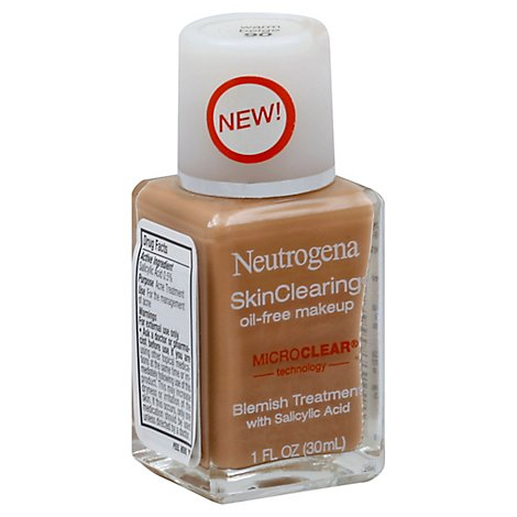 Neutrogena Skin Clear Lq Warm Beige - 1 Oz