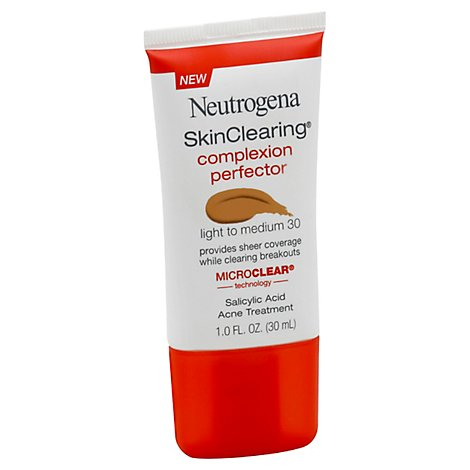 Neutrogena Skincolor Complexion Light Medum - 1 Oz