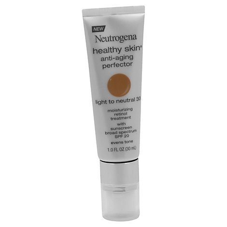 Neutrogena Healthy Skin Foundation Anti Age Light Neutral 1 Oz - 1 Oz