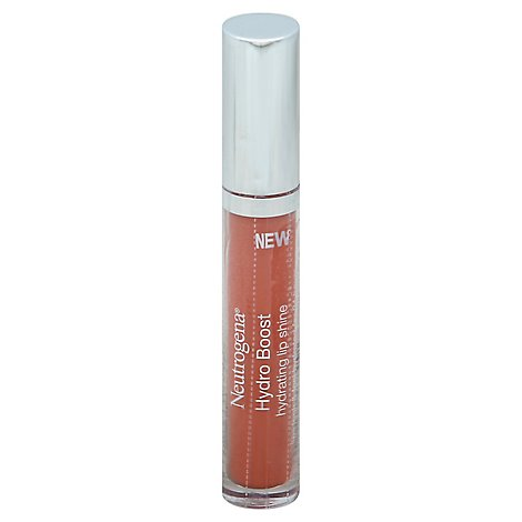 Neutrogena Moistureshine Lip Gloss Berry Brown 0.1oz - .1Oz
