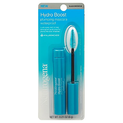 Neutragena Hydroboost Mascara Wp Black/Brown - .21 Oz