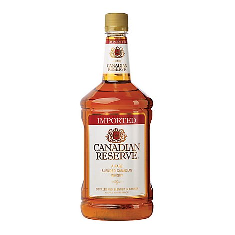 Canadian Reserve Whiskey - 1.75 Liter