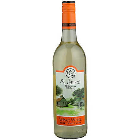 St James Velvet White - 750 Ml