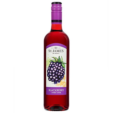 St James Blackberry - 750 Ml