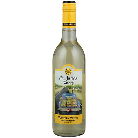St James Country White - 750 Ml