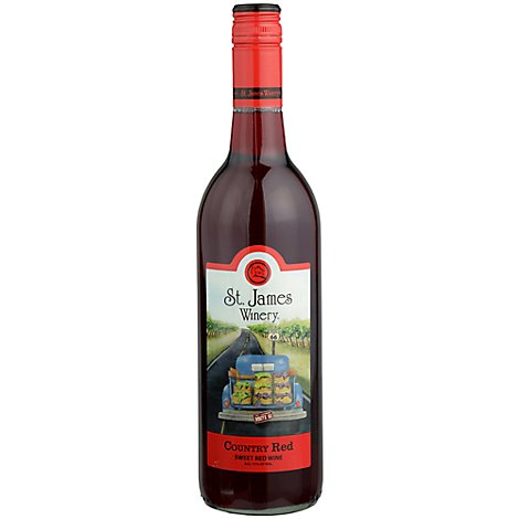 St James Country Red - 750 Ml