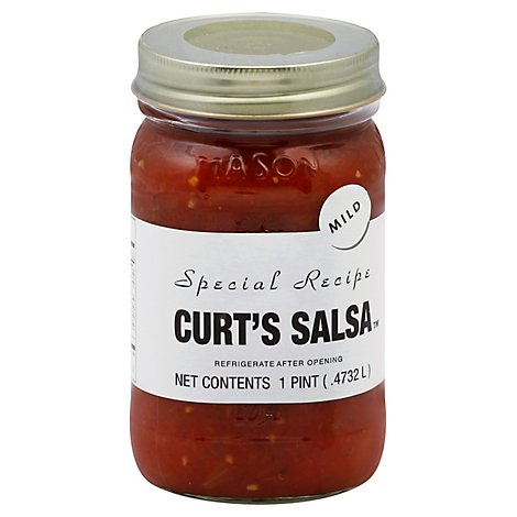 Curts Kitchen Creations Salsa Mild - 16 Oz