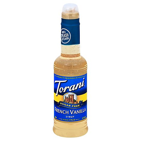 Torani Syrup Sf French Vanla - 12.7 Fl. Oz.