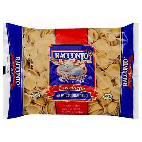 Racconto Orecchiette Cellophane Regular - 12 Oz