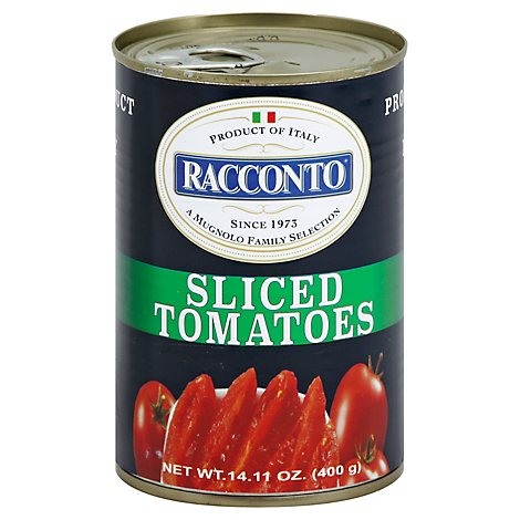 Racconto Tomatoes Sliced - 14.11 Oz