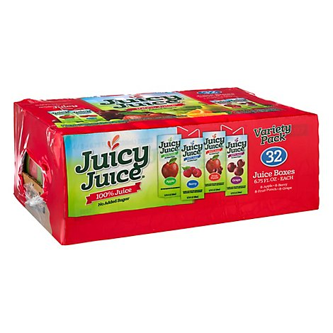 Juicy Juice Variety Slim - 32-6.75 Fl. Oz.