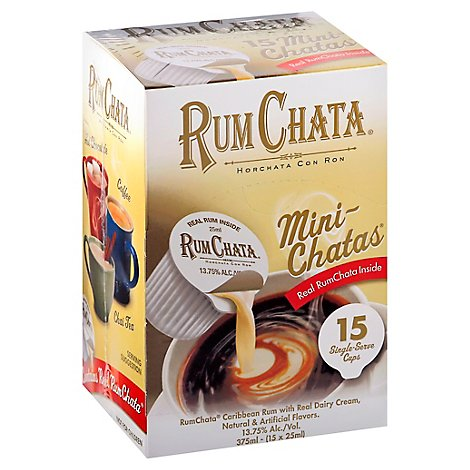 Rum Chata Minis 27.5 Proof - 375 Ml
