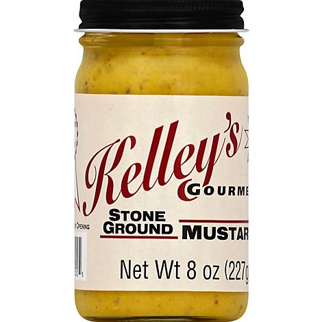Kelleys Mustard Stone - 8 Oz