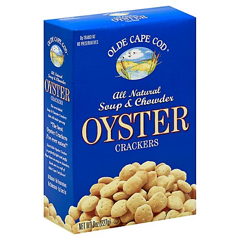 Olde Cape  Cracker Oyster - 8 Oz