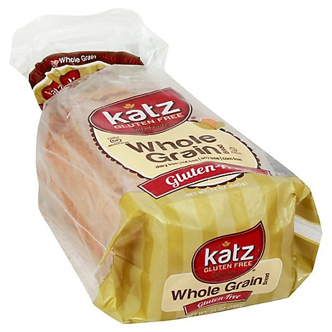 Katz Gluten Free Bread Whole Grain - 21 Oz