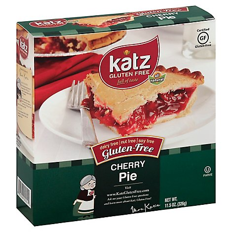 Katz Gluten Free Pie Cherry - 11.5 Oz