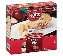 Katz Gluten Free Pie Apple - 11.5 Oz