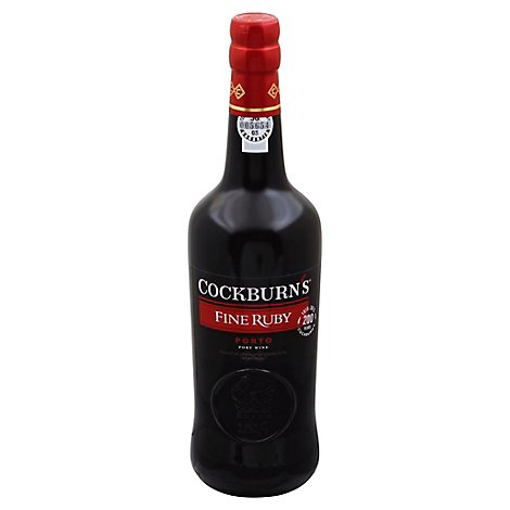 8265cock Ruby Port - 750 Ml