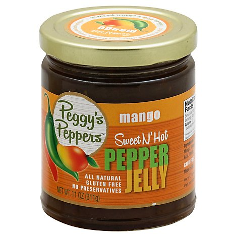 Mango Pepper Jelly - 11 Oz
