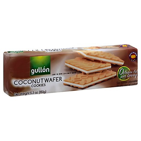 Gullon Cookie Unflavored - 5.3 Oz
