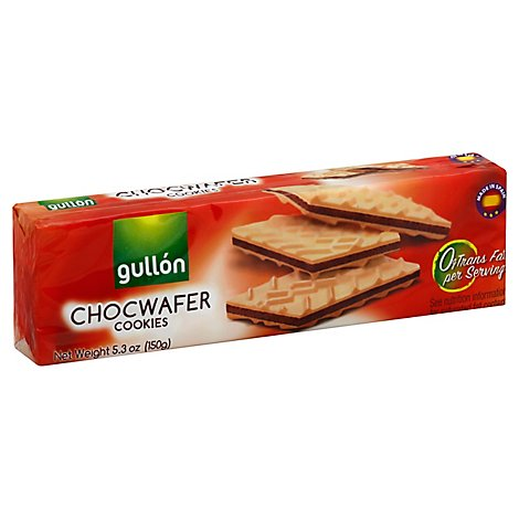 Gullon Sugar Wafer Unflavored - 5.3 Oz