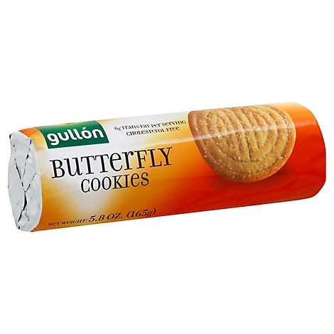 Gullon Cookie Butterfly - 5.82 Oz