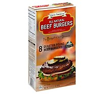 Great American Quarter Pounder Burger - 2 Lb