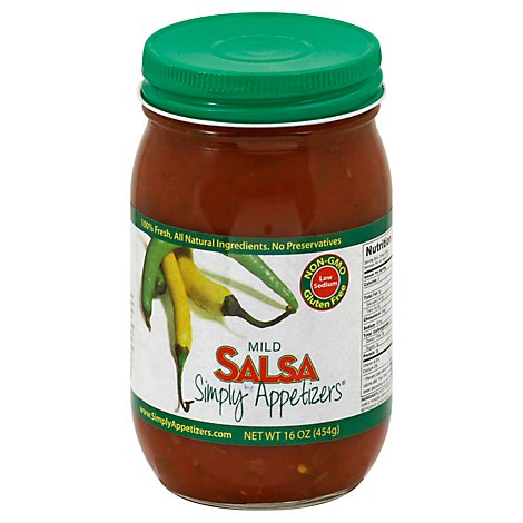 Simply Appetizers Mild Salsa - 16 Oz