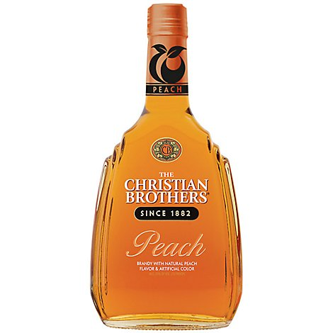 Christian Brothers Brandy Peach 70 Proof - 750 Ml