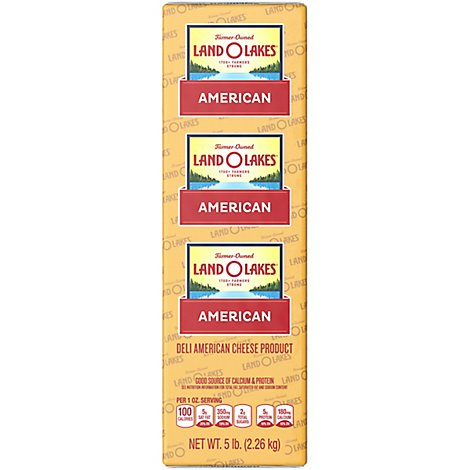 Land O Lakes Yellow American Cheese - 0.5 Lb
