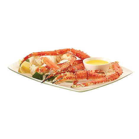 Seafood Service Counter Crab King Leg Clusters - 1.25 LB