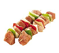 Meat Counter Kabobs Pork With Vegetables Packaged 2 Count - 1.50 LB
