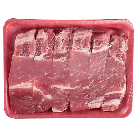 Meat Counter Pork Ribs Country Style Seasoned - 1 LB