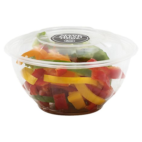 Mixed Peppers Sliced - 17 Oz