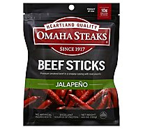 Omaha Steak Jalapena Beef Sticks - 4.6 Oz