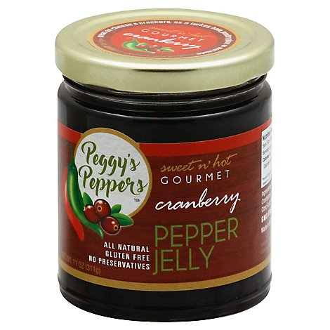Pepper Jelly Cranbry Peggy Ppr - 11 Oz