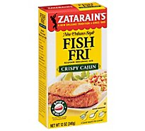 Zatarains Crispy Cajun Fish Fri - 12 Oz