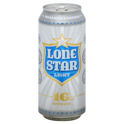 Lone Star Light In Can - 6-16 Oz